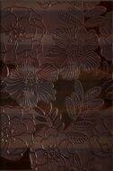 WD227-008 CARISMA BROWN INSERTO FLOWER 30x45