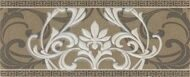 Travertino Cenefa Arabesque 10x25
